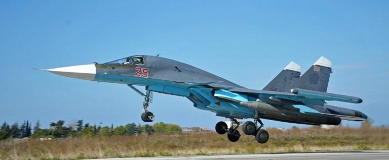 سلاح الجو الروسي يقوم بــ41 طلعة جوية لدعم الجيش السوري في محيط تدمر