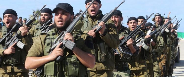 """""""حماس"""" تجري مناورة عسكرية لقوى الأمن في غزة"""