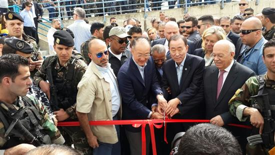 بان كي مون من طرابلس: نريد دعم شعوب المنطقة