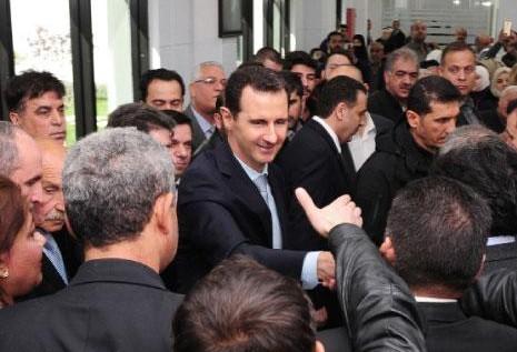 الأسد: لا حلّ إلا بالقتال والنصر