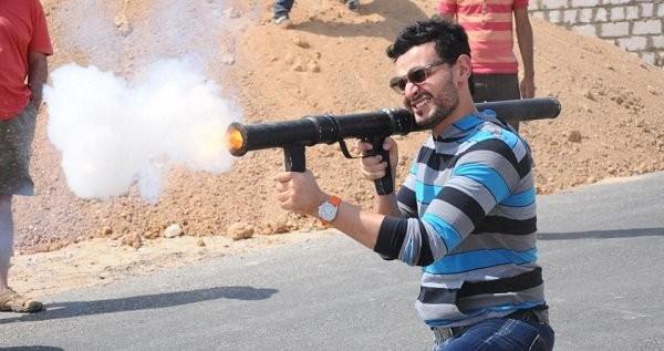 حدوث انفجار في المغرب رامز جلال يتسبب به (فيديو)