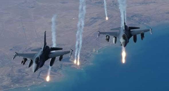 الطائرات الحربية الروسية تقصف مسلحين هاجموا حي الشيخ مقصود وأجبرتهم على التراجع