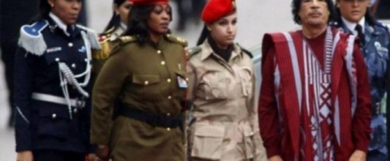 الحارسة الشخصية للقذافي تكشف سر تجنيده للنساء