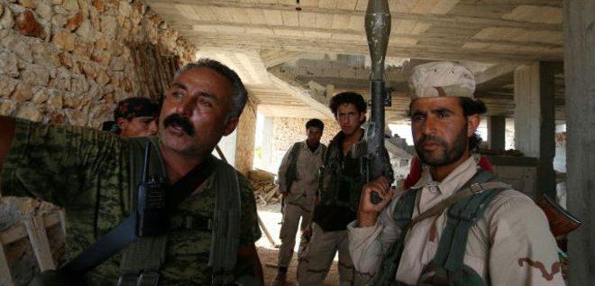 """قوات سوريا الديمقراطية """"تدخل مدينة منبج""""شارك"""