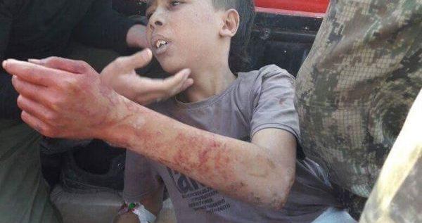 """فيديو يظهر طفلا يذبحه """"معارضون"""" سوريون"""