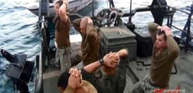 البحرية الامريكية تنتقد بحارتها الذين اسرتهم ايران في الخليج