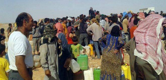 الأردن يسمح بدخول مساعدات للاجئين سوريين محاصرين على حدوده