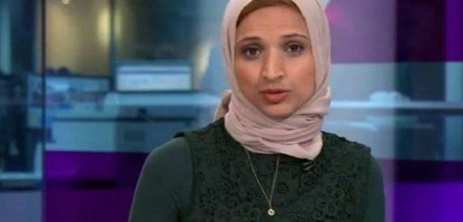 """مذيعة محجبة في قناة بريطانية تثير جدلا بعد تغطية أحداث """"نيس"""""""