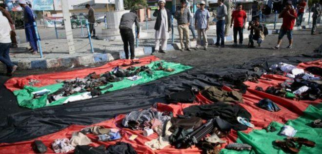 عشرات القتلى والجرحى في هجوم على مسيرة بأفغانستان