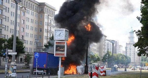 الشرطة الألمانية: مقتل شخص وجرح 10 آخرين في انفجار عبوة ناسفة بمطعم في مدينة انسباخ