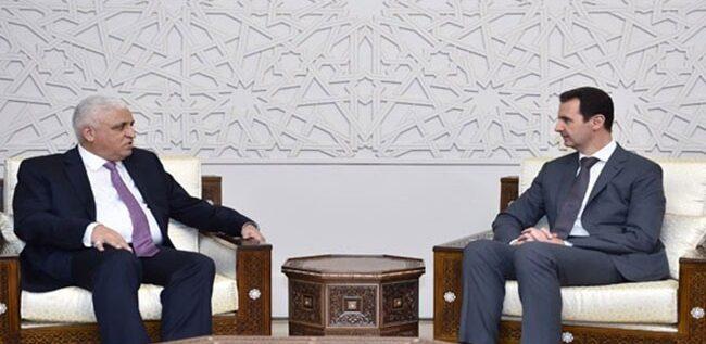 الرئيس الأسد: الحرب في سوريا والعراق واحدة