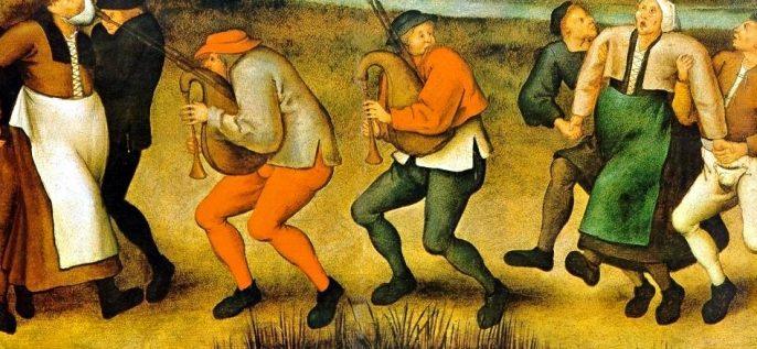 غرائب التاريخ : وباء الرقص..!