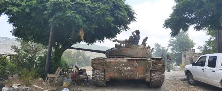 """بالصور…الجيش السوري يبسط سيطرته على """"حوش نصري"""""""
