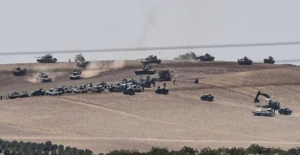 الجيش التركي يزيد تتوغل قواته في الاراضي  السورية والمرصد يقول إن 35 قرويا قتلوا