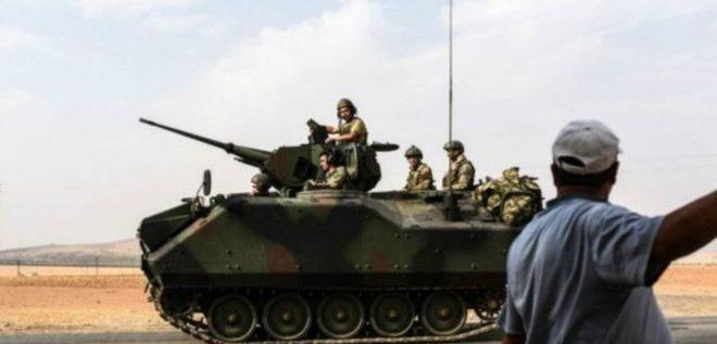 """""""اتفاق"""" الأتراك والأكراد على وقف إطلاق النار في جرابلس"""