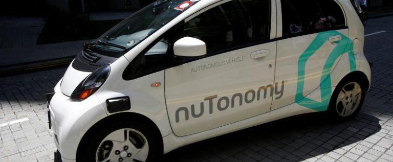 أول سيارة أجرة بدون سائق تبدأ العمل في شوارع سنغافورة ..