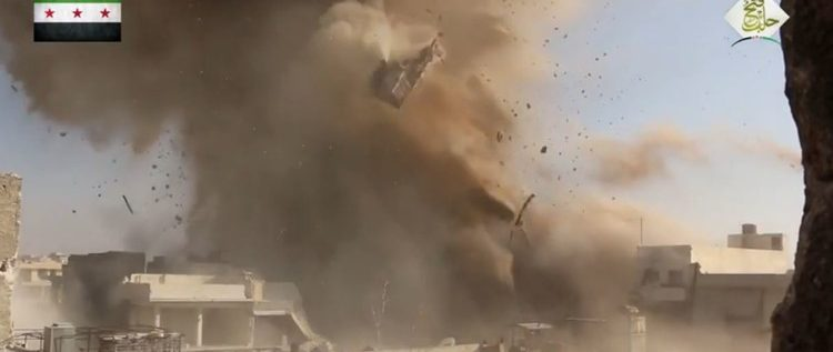 أنفاق حلب المفخخة وحفاروها