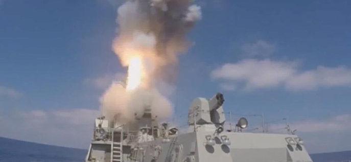 موسكو تقصف مواقع للجهاديين في سوريا انطلاقا من سفنها المنتشرة بالبحر المتوسط
