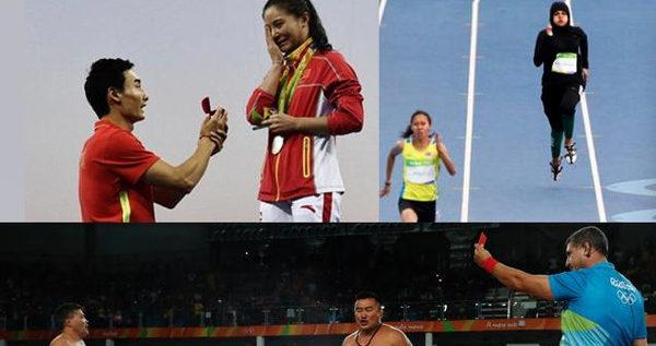 أغرب 10 صور في أولمبياد ريو