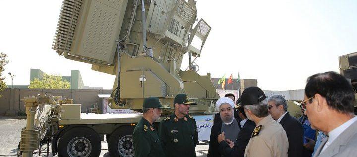 إيران تكشف لأول مرة عن منظومتها الدفاعية الصاروخية محلية الصنع