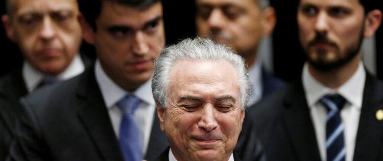 ميشال تامر يصبح رئيسا للبرازيل خلفا لديلما روسيف المعزولة