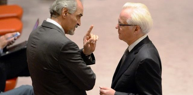 الجعفري يعلق مجددا على انسحاب أعضاء في مجلس الأمن أثناء كلمته