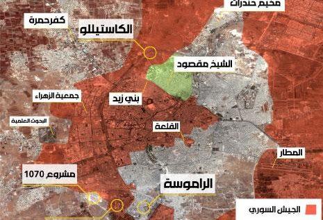 دمشق تخلط معادلات الشمال: طوق حلب يعود مجدداً