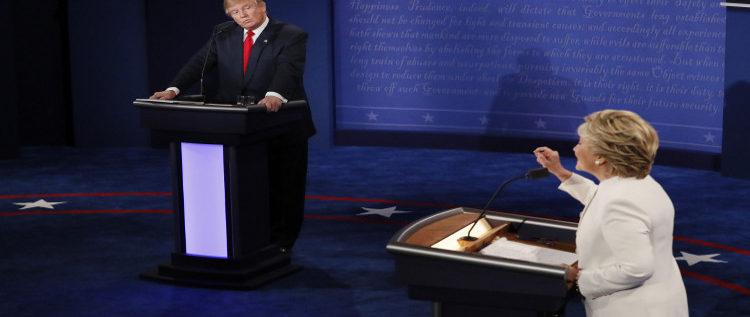 المناظرة الأخيرة.. كلينتون وترامب يحددان موقفيهما من الأزمة السورية ومعركة الموصل
