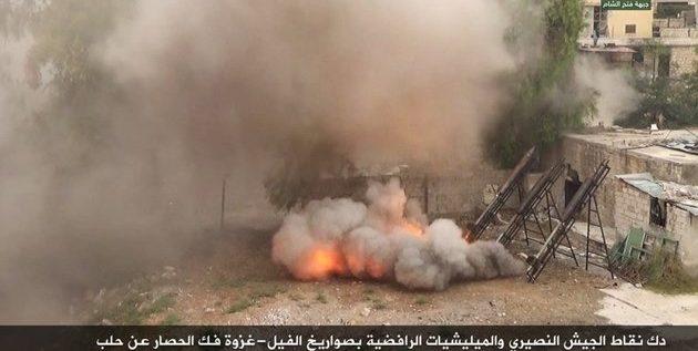 المحيسني يكشف أسماء ممولين خليجيين يؤمنون الصواريخ التي تقصف حلب