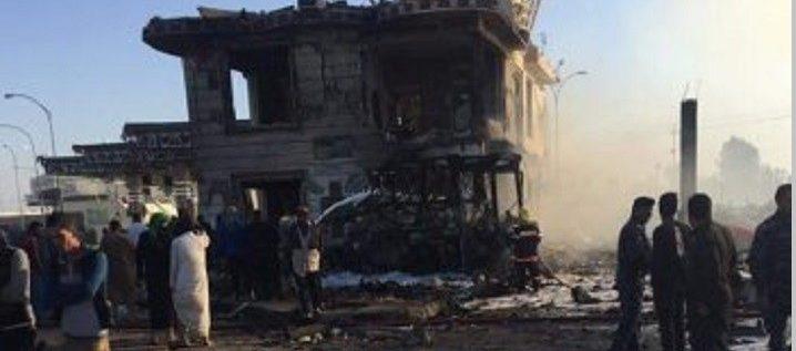 نحو 100 قتيل في تفجير الحلة جنوب بغداد