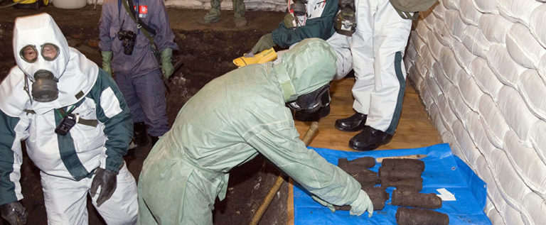 أدلة تثبت أن المسلحين في سوريا استخدموا غاز الخردل