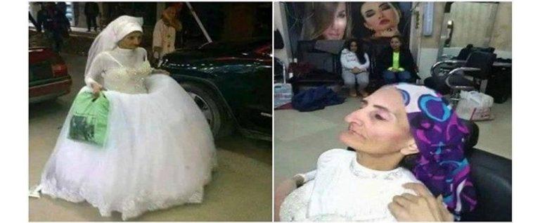 """بالصور..""""عروس بلا عريس"""" في الإسكندرية.. والشرطة تلقي القبض عليها"""