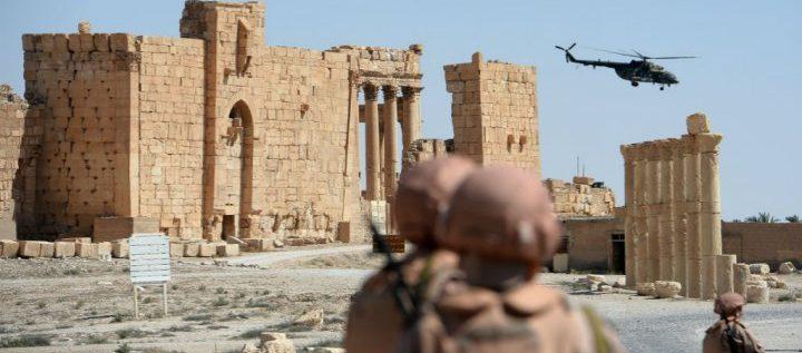 """سوريا: التلفزيون الرسمي يؤكد سقوط تدمر مجددا في أيدي تنظيم """"الدولة الإسلامية"""""""