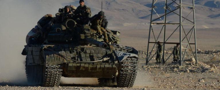 """الجيش السوري يتقدم نحو منبج ويقطع الطريق على القوات التركية وفصائل """"درع الفرات"""""""