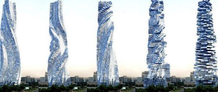 دبي تستعد لاحتضان أول ناطحة سحاب دوارة في العالم …