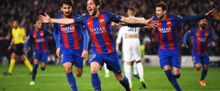 """برشلونة يقصي سان جرمان.. ويصنع """"المعجزة"""""""