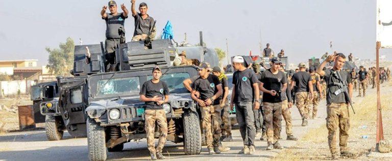 """القوات العراقية تحرر مواقع مهمة من """"داعش"""" في أيمن الموصل"""