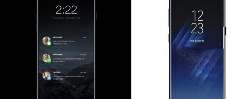 تقارير: آيفون 8 سيحطم مبيعات غالاكسي S8
