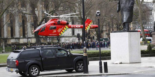 أول فيديو لإطلاق النار قرب البرلمان البريطاني