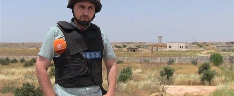 توقيف المراسل رضا الباشا عن العمل في سوريا