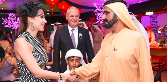 بالصور: نانسي عجرم تتعرض لموقف محرج في دبي!