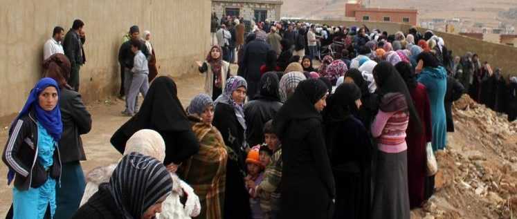 منظمات مسيحية فرنسية تريد استقبال 500 لاجىء سوري من لبنان