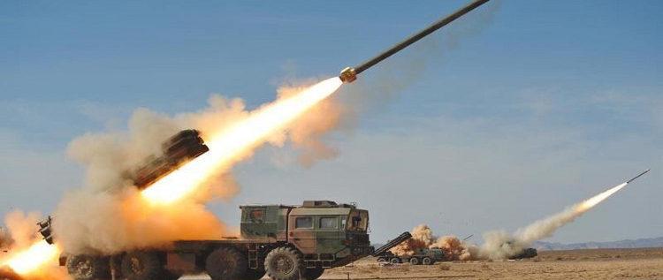 استهداف عنيف جدا بسلسلة صواريخ لحي القابون بدمشق