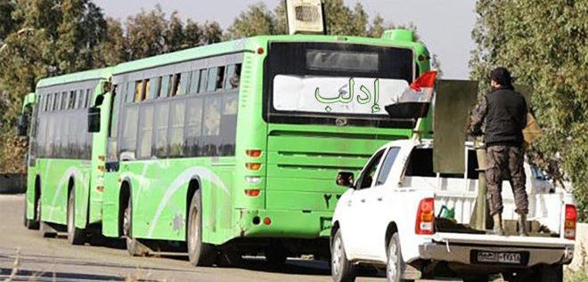 """ماذا حلّ بسائقي """"الباصات الخضر"""" الذين دخلوا ريف إدلب؟"""