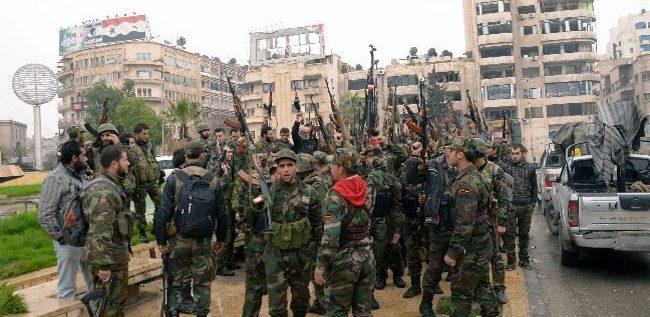 الجيش يسيطر على دير حافر
