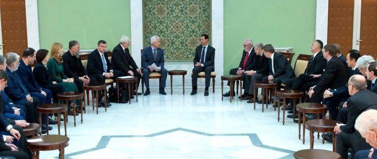 الأسد: حماية حدودنا هو حقنا وواجبنا ونعوّل على روسيا لمنع الهجمات الإسرائيلية