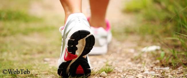 مواصفات حذاء المشي
