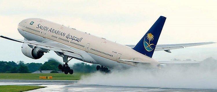 نجاة 127 راكبا من موت محقق على متن طائرة للخطوط السعودية