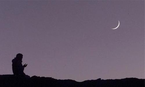 مفتي الجمهورية اللبنانية :لم تثبت لدينا رؤية هلال شهر رمضان المبارك