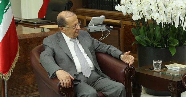 عون تابع موضوع قانون الانتخابات: احترام الدستور يبقى الاساس